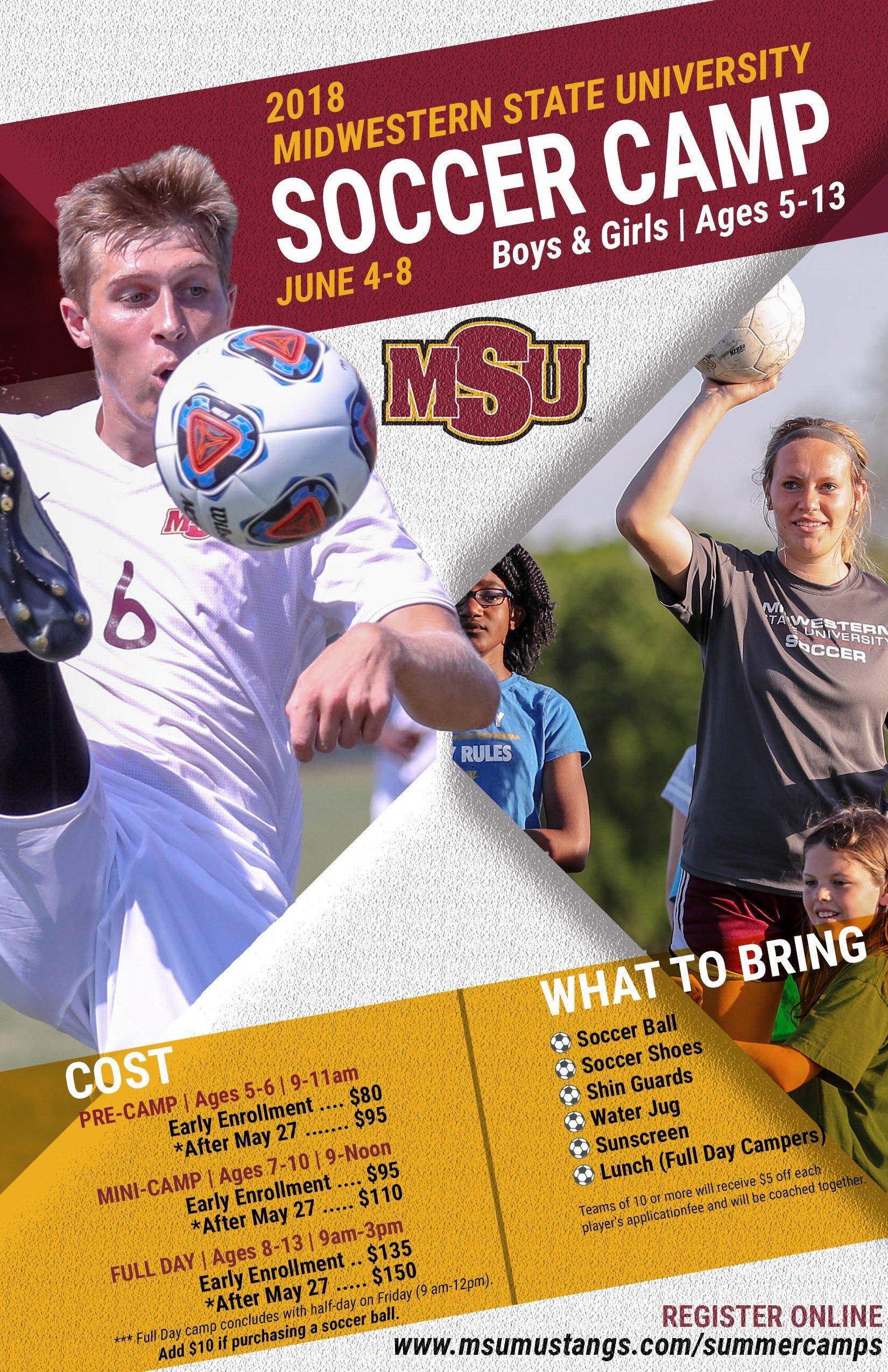 MSU Soccer Camp 2018